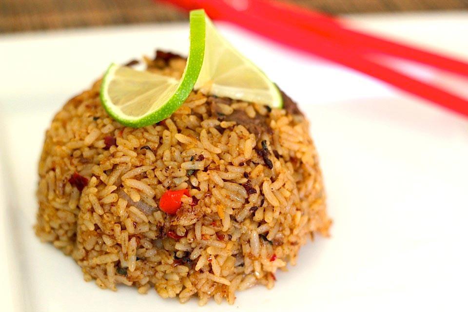 Thai Fried Rice Recipe  Spicy Thai Fried Rice Recipe