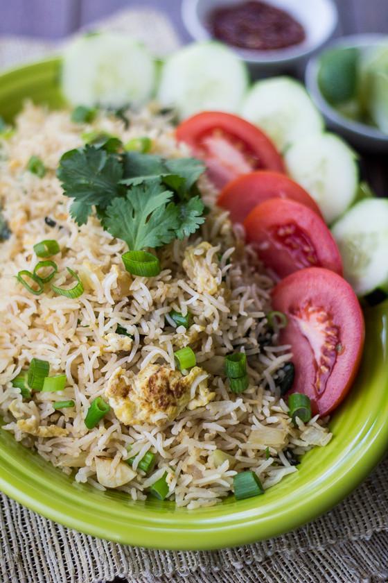 Thai Fried Rice Recipe  Classic Thai Fried Rice The Wanderlust Kitchen