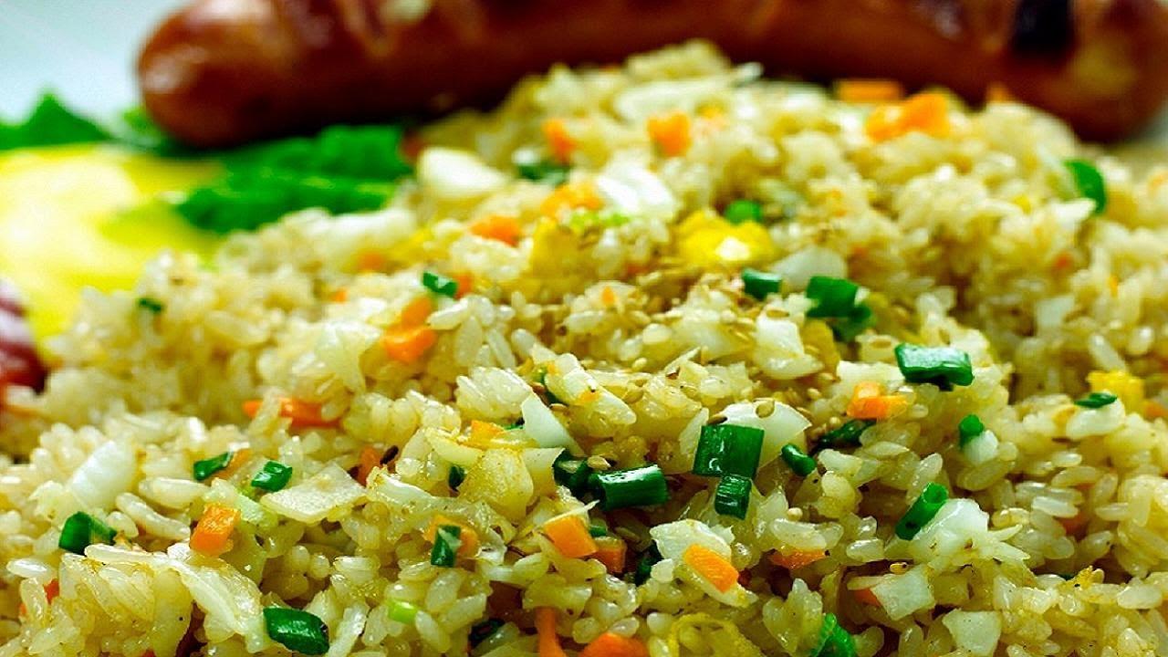 Thai Fried Rice Recipe  Pineapple fried rice Video Recipe Thai Cuisine by