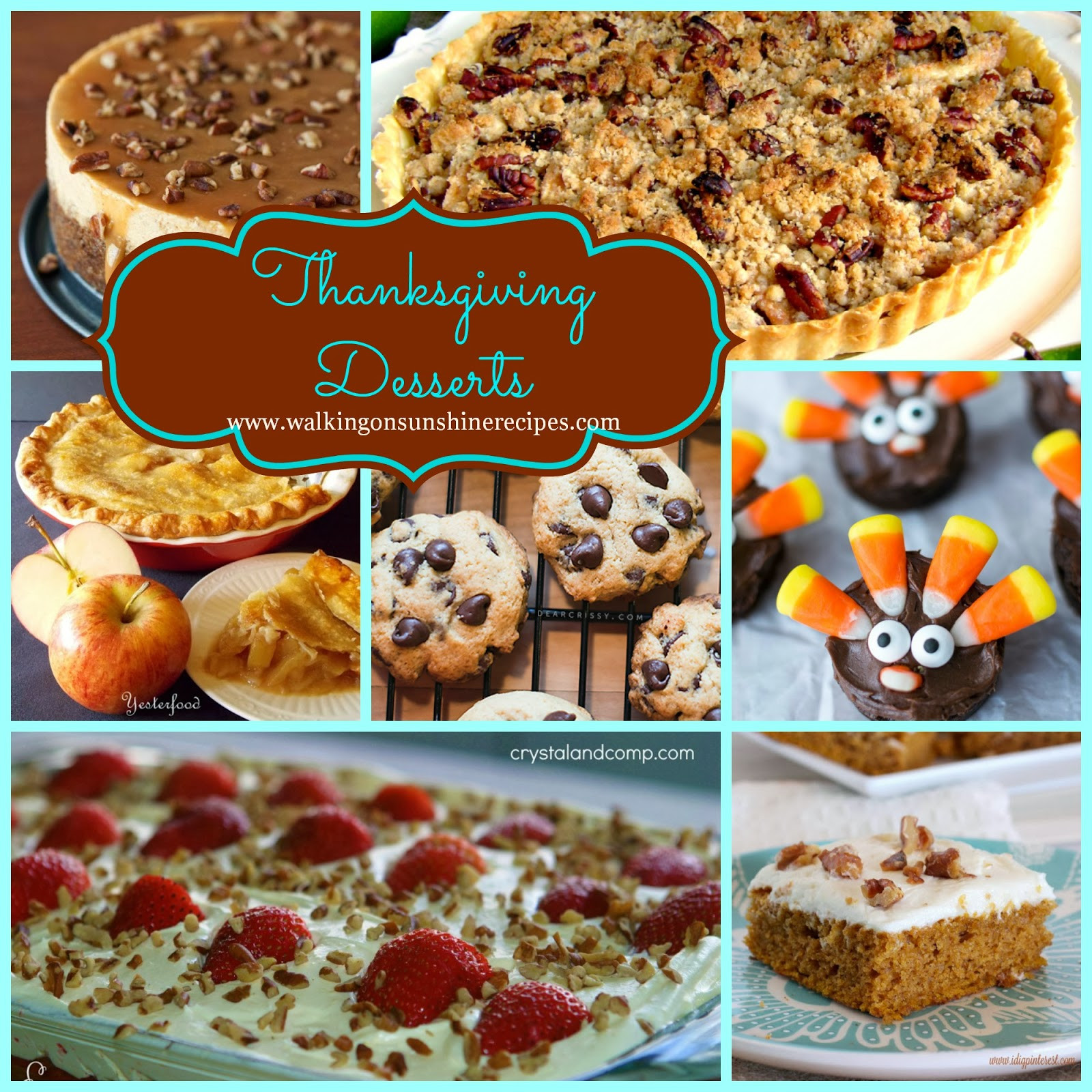 Thanksgiving Desserts Pinterest  Holidays The Best Desserts to Make for Thanksgiving