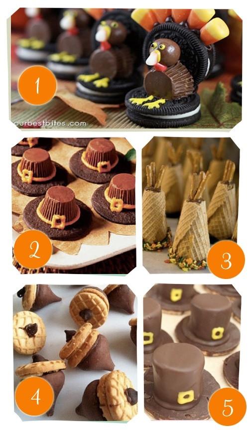 Thanksgiving Desserts Pinterest  thanksgiving desserts Cute clever ideas