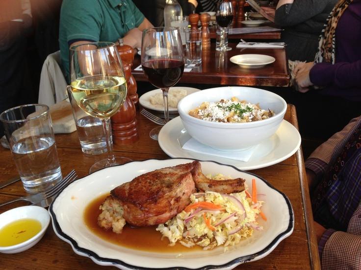Thanksgiving Dinner New York City 2015  Thanksgiving dinner at Vesta Trattoria in Astoria