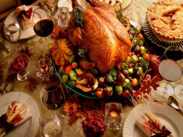 Thanksgiving Dinner Pictures  Best restaurants for Thanksgiving dinner in Los Angeles