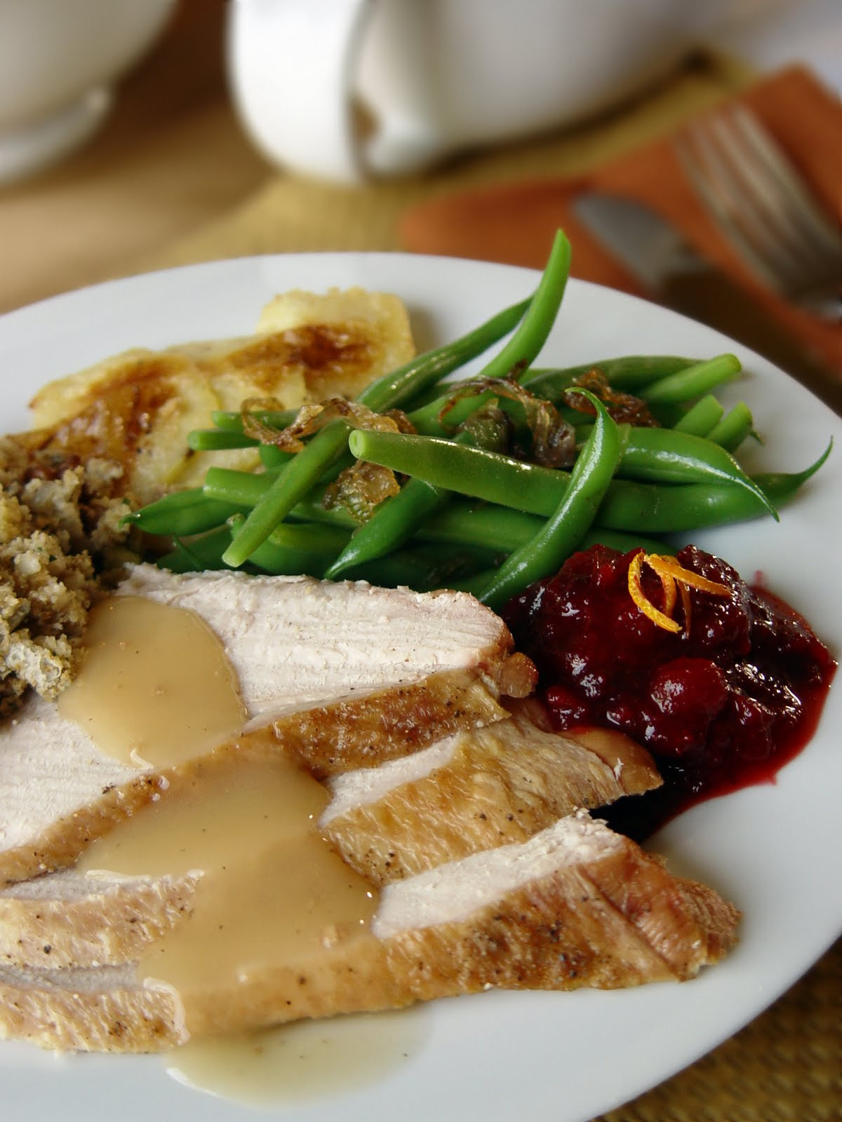 Thanksgiving Dinner Plates  Holiday Meal Planning for Dads