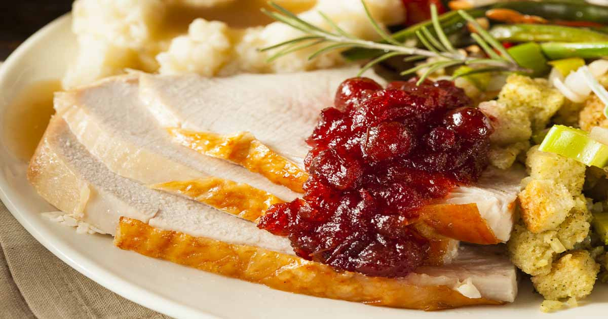 Thanksgiving Dinner Plates  9 Quick Tips Quick Tips to Stretch Thanksgiving Dinner