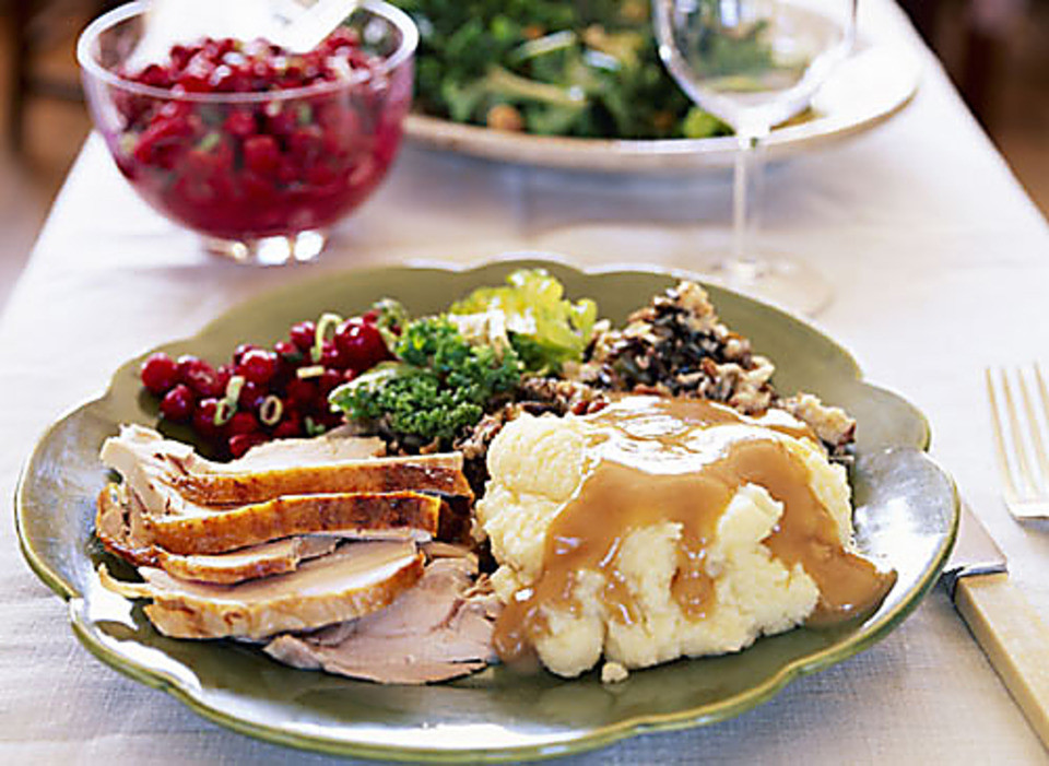 Thanksgiving Dinner Plates  Where to dine on Thanksgiving day