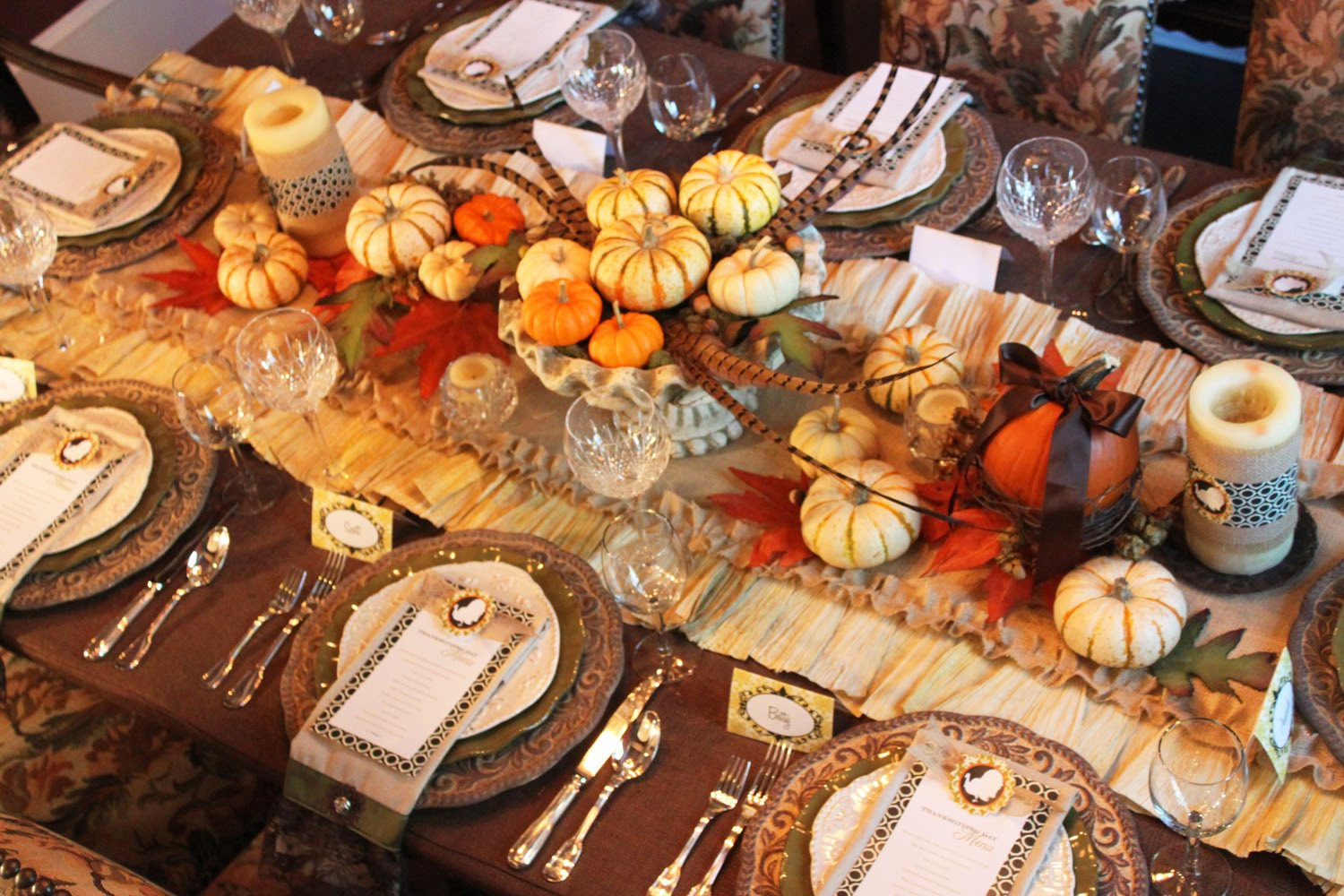 Thanksgiving Dinner Table  Dining Table Dining Table Thanksgiving
