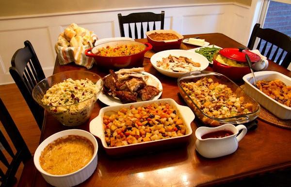 Thanksgiving Dinner Table  Thanksgiving Dinner Table