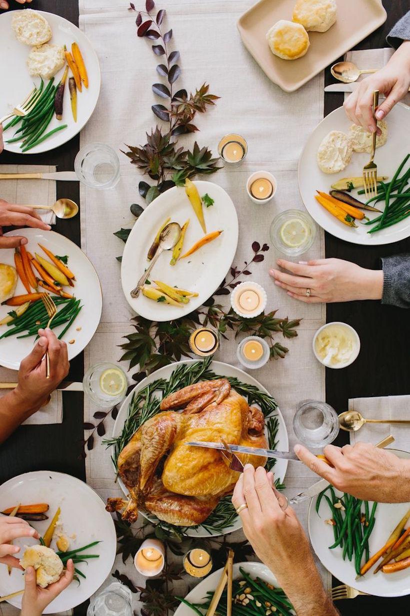 Thanksgiving Dinner Table  Modern Thanksgiving Dinner Camille Styles