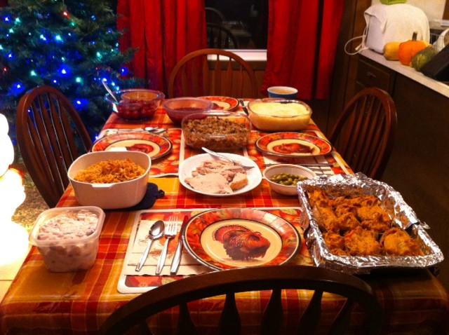 Thanksgiving Dinner Table  Thanksgiving Family Favorites
