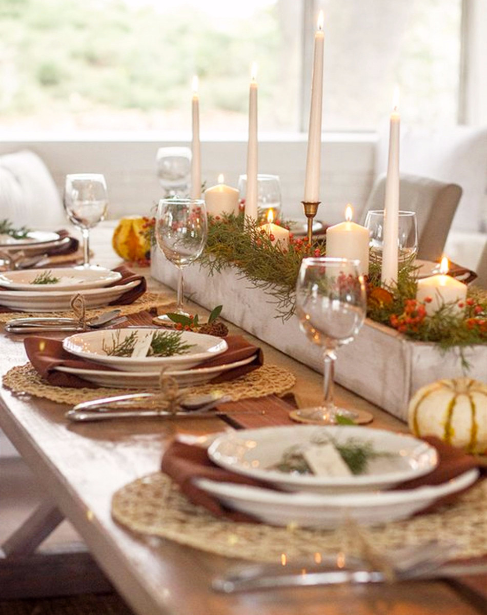 Thanksgiving Dinner Table  Thanksgiving Table Settings • DIY Ideas for Your