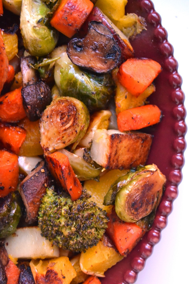 Thanksgiving Roasted Vegetables  Cajun Turkey with Roasted Ve ables