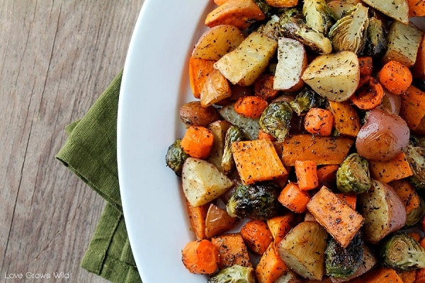 Thanksgiving Roasted Vegetables  11 Irresistible Gluten Free Thanksgiving Side Dishes