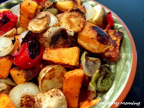 Thanksgiving Roasted Vegetables  Cranberry Morning Thanksgiving Roasted Ve ables Recipe