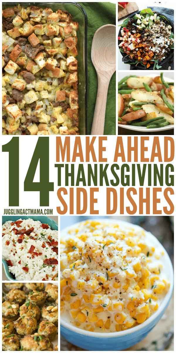 Thanksgiving Side Dishes Make Ahead  14 Make Ahead Thanksgiving Side Dishes Juggling Act Mama
