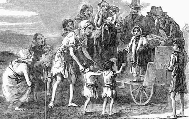 The Great Potato Famine  A walk through history the horrific tale of a Mayo