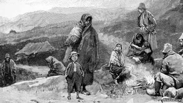 The Great Potato Famine  The Irish famine Opening old wounds
