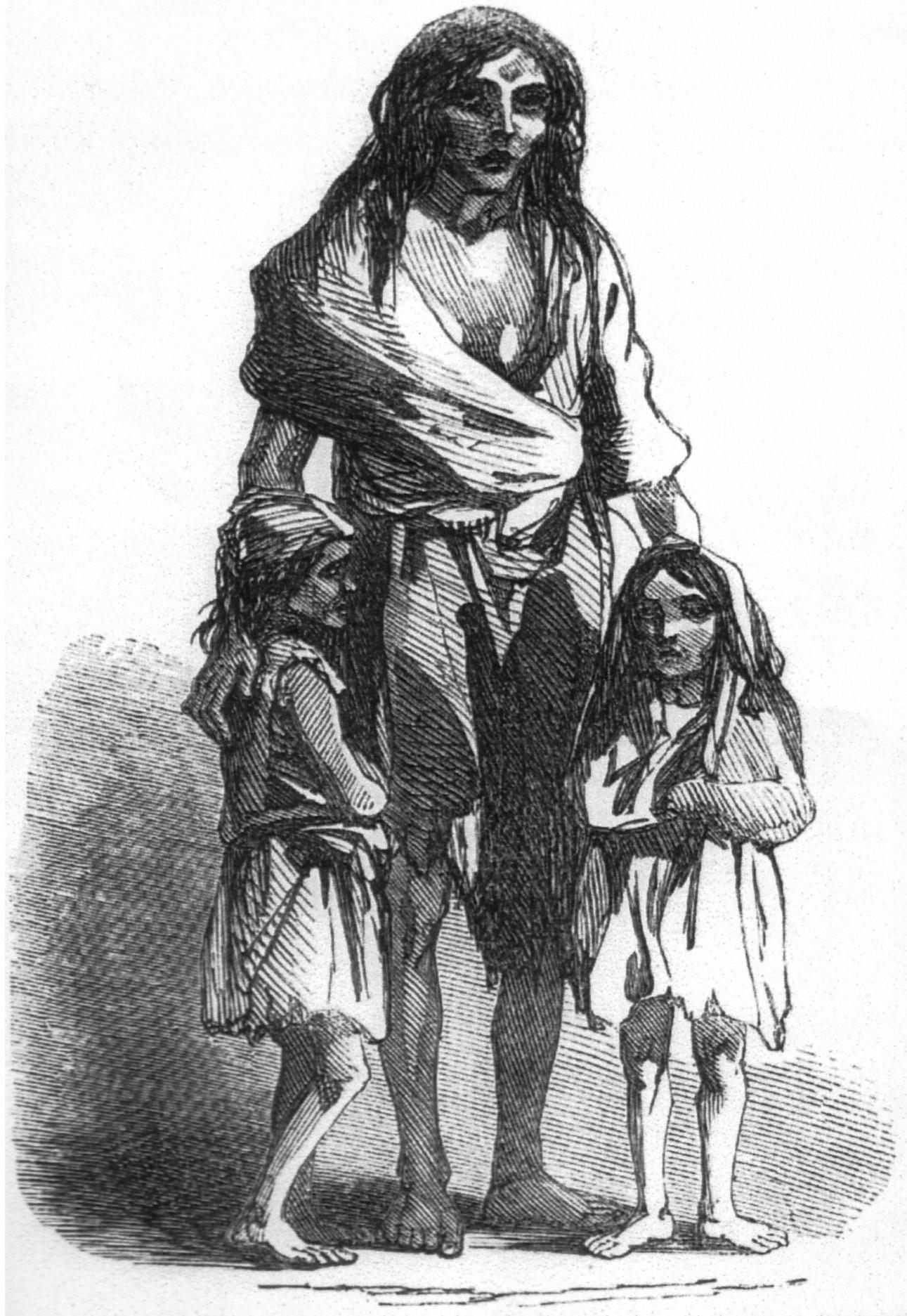 The Great Potato Famine  Gran hambruna irlandesa la enciclopedia libre