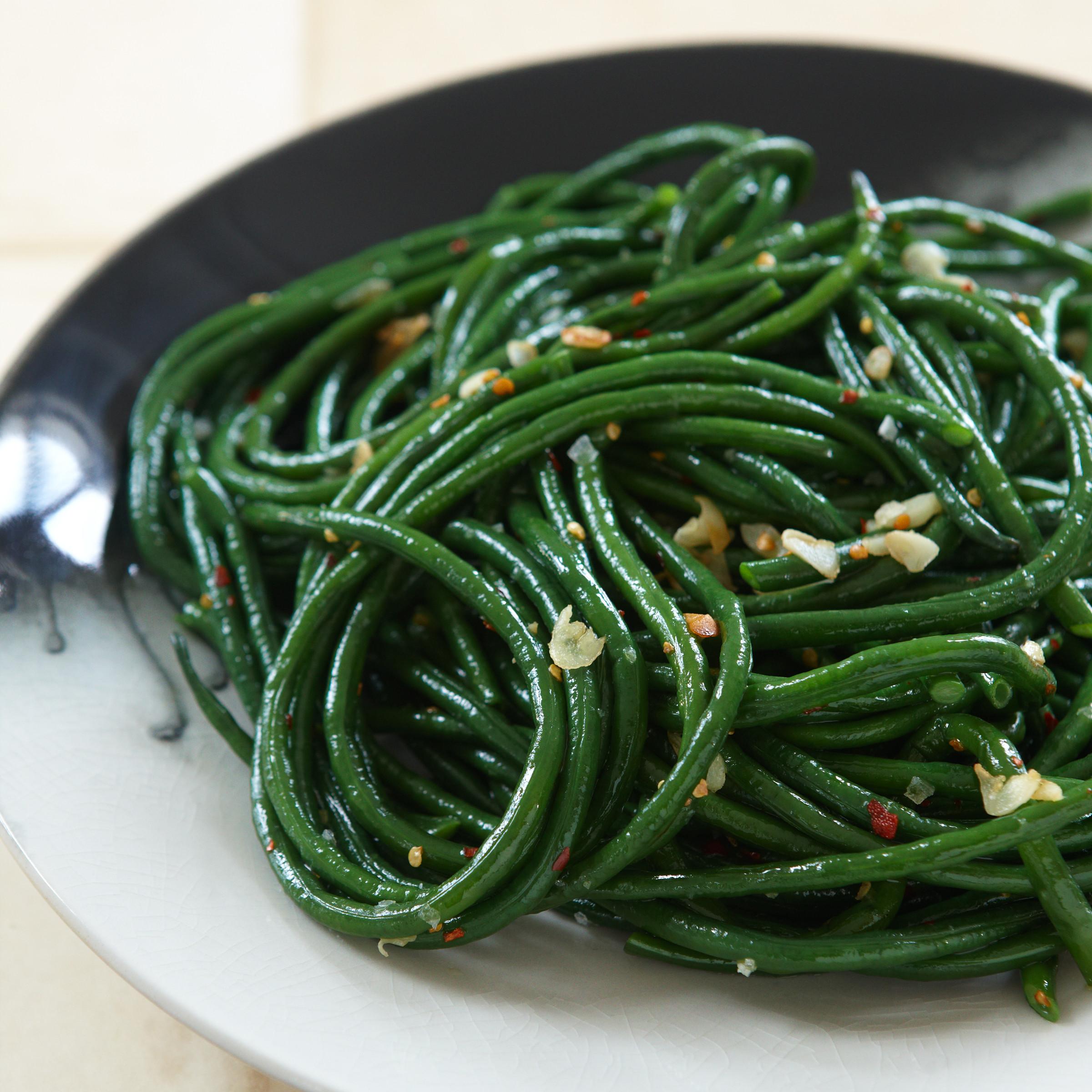 The Green Bean  Gingered Green Beans Recipe Scott Conant