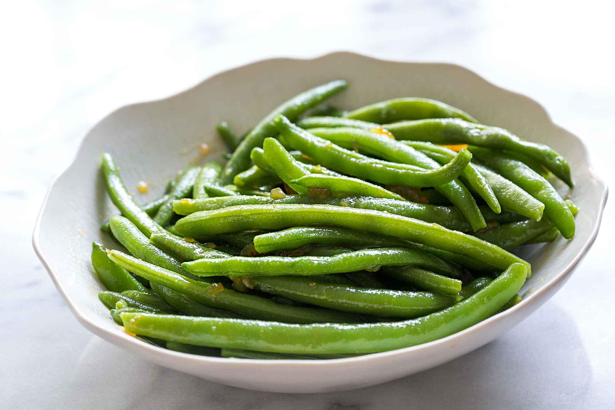 The Green Bean  Sriracha Orange Glazed Green Beans Recipe