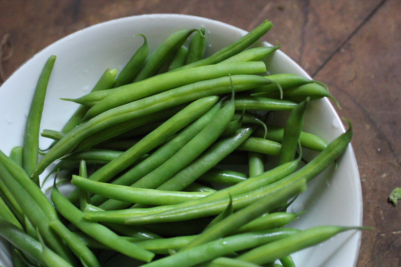 The Green Bean  Spicy Pickled String Beans Shimi Ka Achar