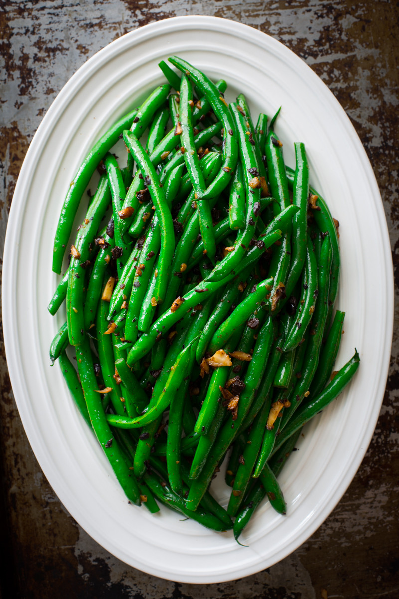 The Green Bean  simple skillet green beans Healthy Seasonal Recipes