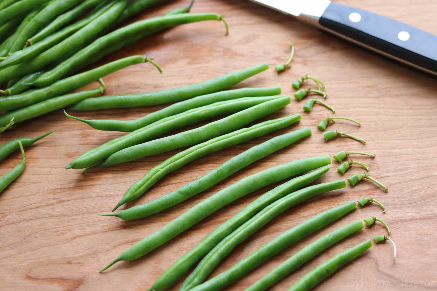 The Green Bean  Blistered Green Beans Two Healthy Kitchens