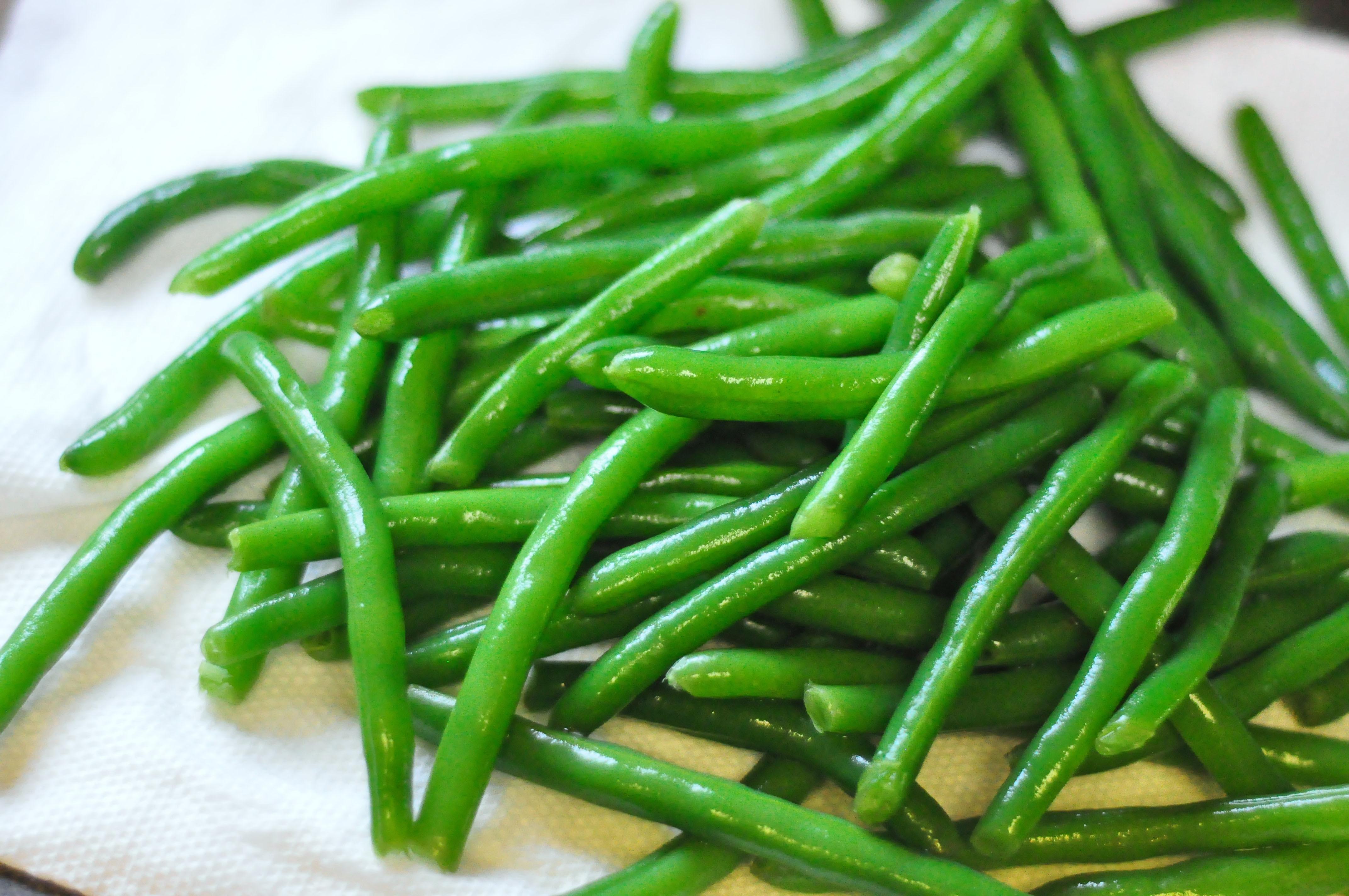 The Green Bean  Baked Green Bean Fries bebehblog