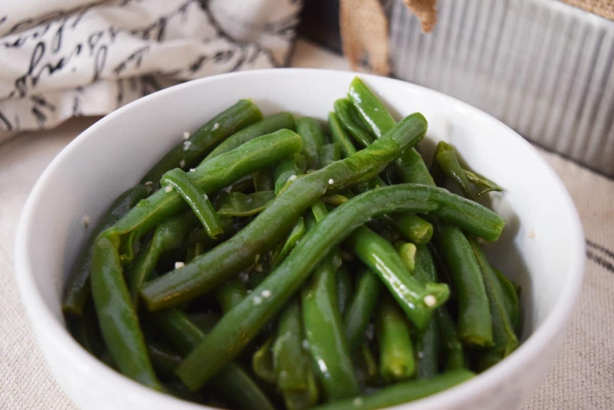 The Green Bean  Instant Pot Garlic Butter Green Beans Soulfully Made