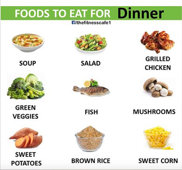 Things To Eat For Dinner  10 Healthy Foods You Should Be Eating