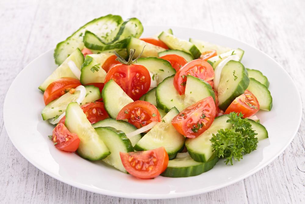 Tomato Onion Cucumber Salad  Tomato Cucumber Salad David Perlmutter M D