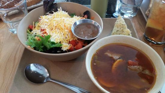 Tomato Pie Cafe Harrisburg  Soup & Salad bo Herb Scone is Awesome price is great