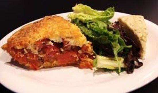 Tomato Pie Cafe  The Infamous Tomato Pie DIsh Picture of Tomato Pie Cafe