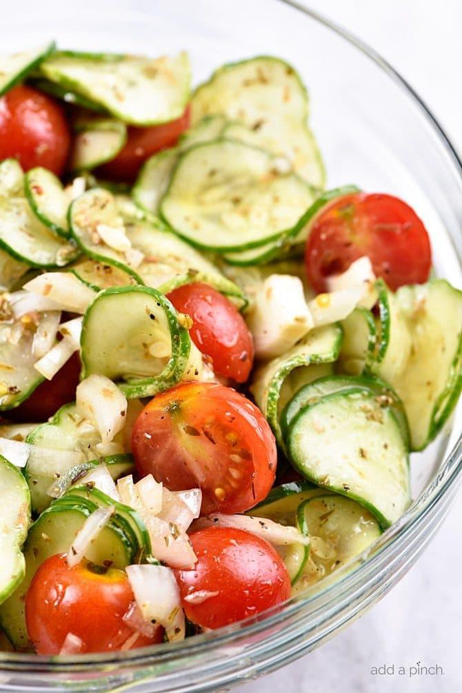 Tomato Salad Recipe  Cucumber and Tomato Salad Recipe Add a Pinch