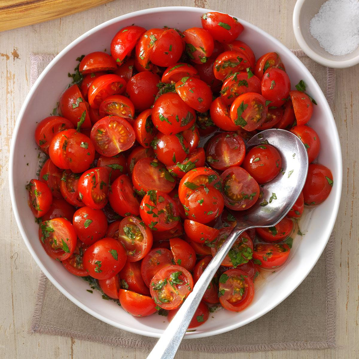 Tomato Salad Recipe  Cherry Tomato Salad Recipe
