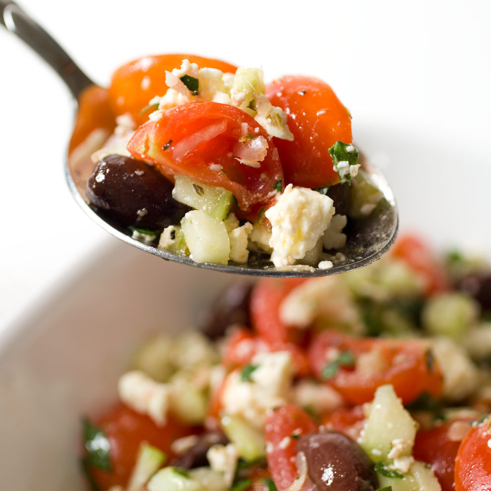 Tomato Salad Recipe  Greek Cherry Tomato Salad