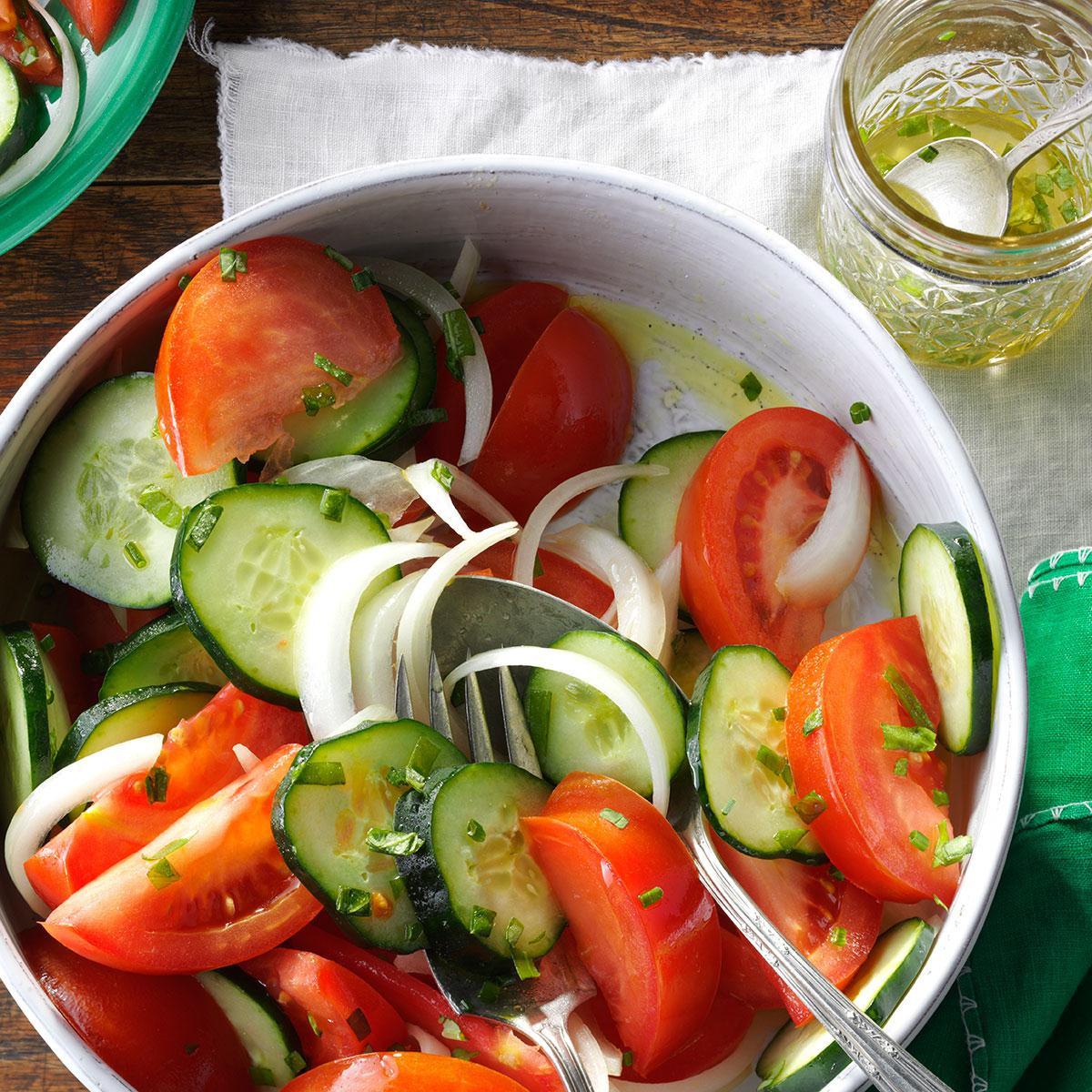 Tomato Salad Recipe  Garden Tomato Salad Recipe