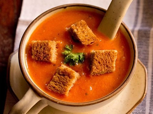 Tomato Soup Recipe  tomato soup recipe how to make tomato soup