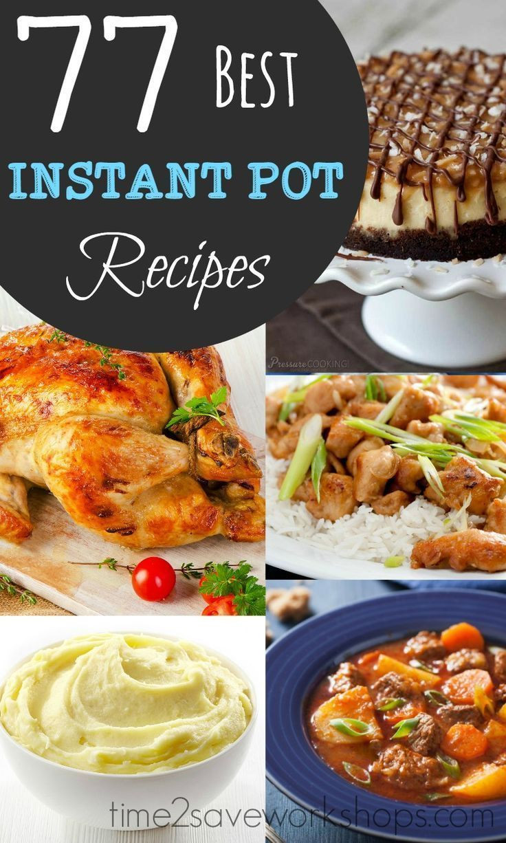 Top Rated Healthy Instant Pot Recipes  676 best Food Roundups and Lists images on Pinterest