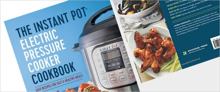 Top Rated Healthy Instant Pot Recipes  Best 20 Pressure Cooker Cookbook ideas on Pinterest