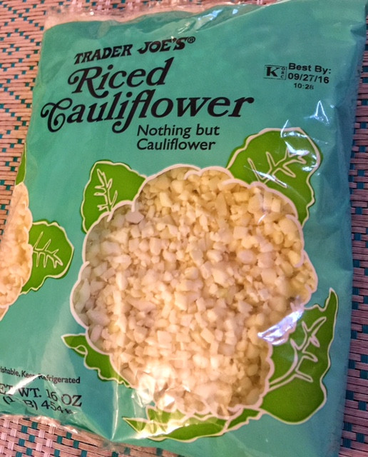 Trader Joe'S Riced Cauliflower  Cauliflower rice has reached craze level but does it