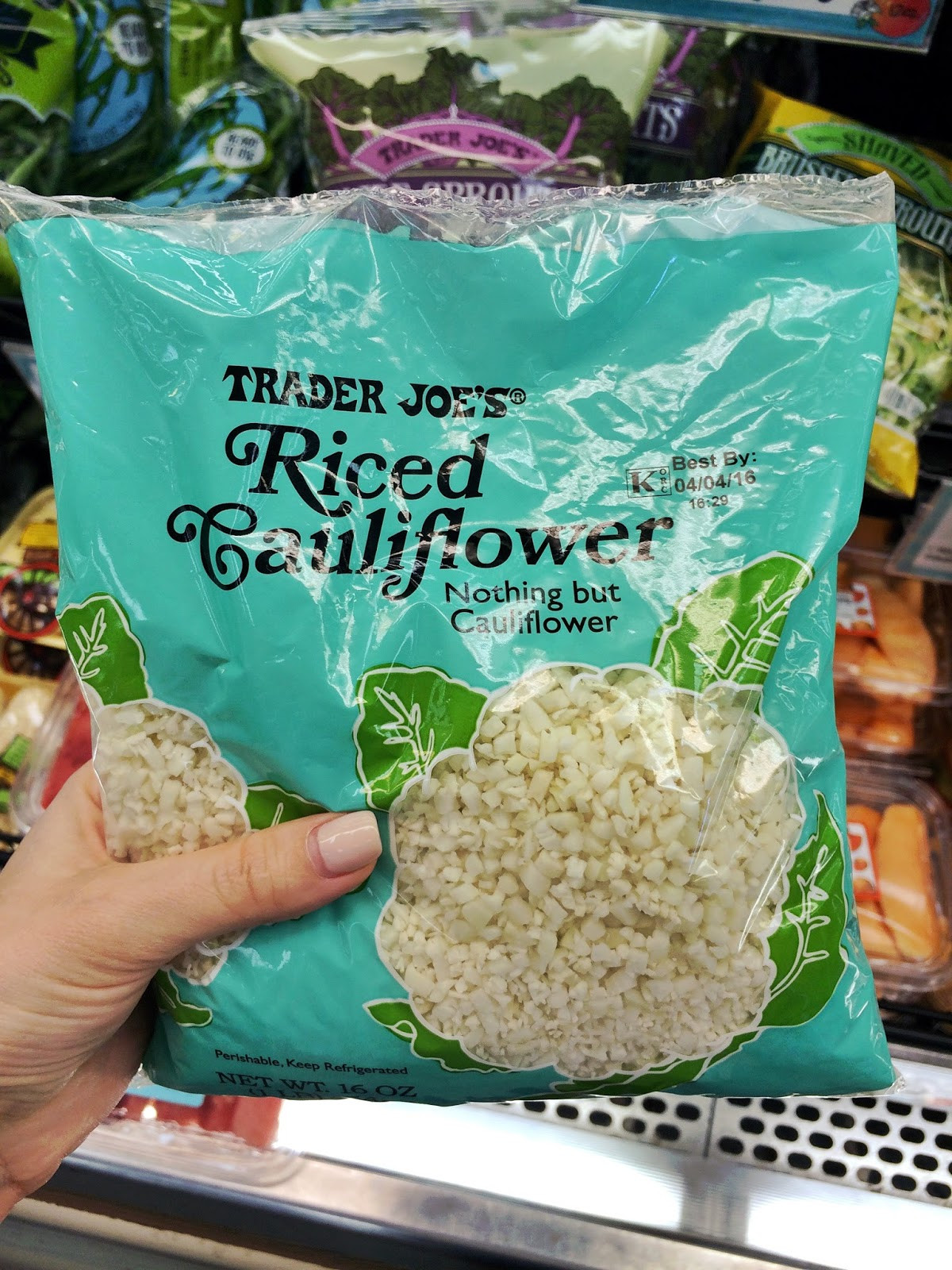 Trader Joe'S Riced Cauliflower  healthy fabulous life The 15 Best Things to Buy at Trader