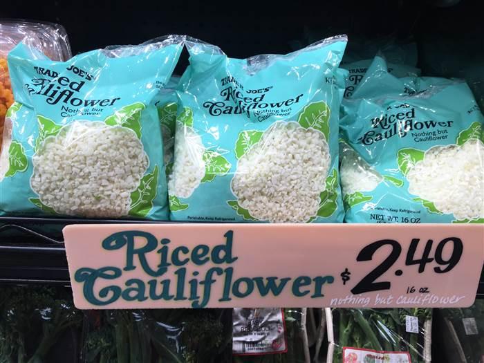 Trader Joe'S Riced Cauliflower  Is Trader Joe s cauliflower rice better than homemade We
