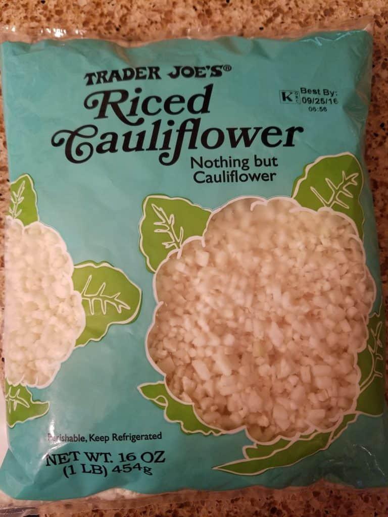 Trader Joe'S Riced Cauliflower  Trader Joe s Riced Cauliflower