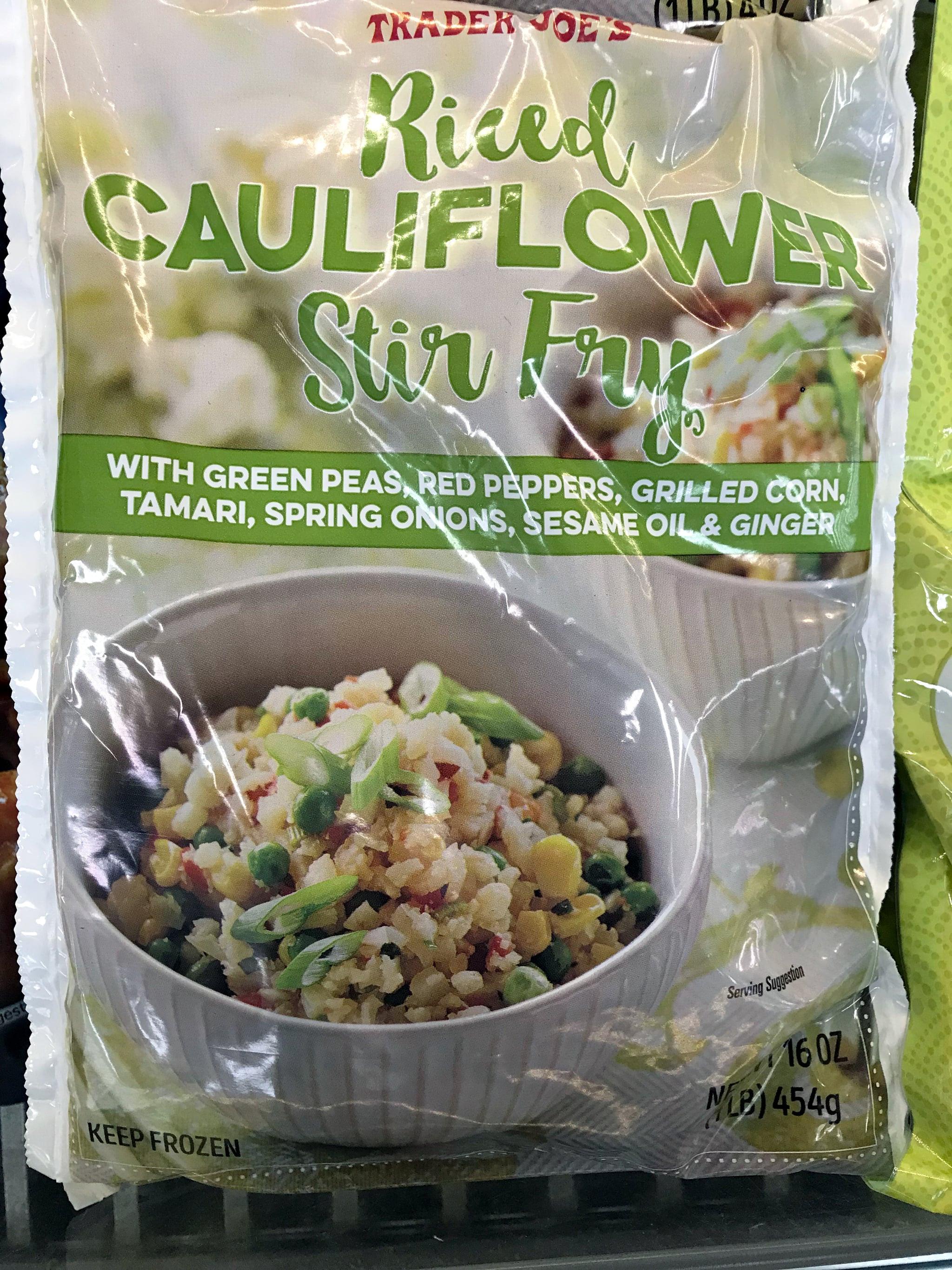 Trader Joe'S Riced Cauliflower  Trader Joe s Riced Cauliflower Stir Fry Review