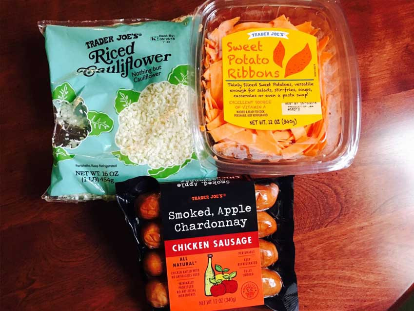 Trader Joe'S Riced Cauliflower  Quick and Nutritious Dinner Jenny s Bod Squad