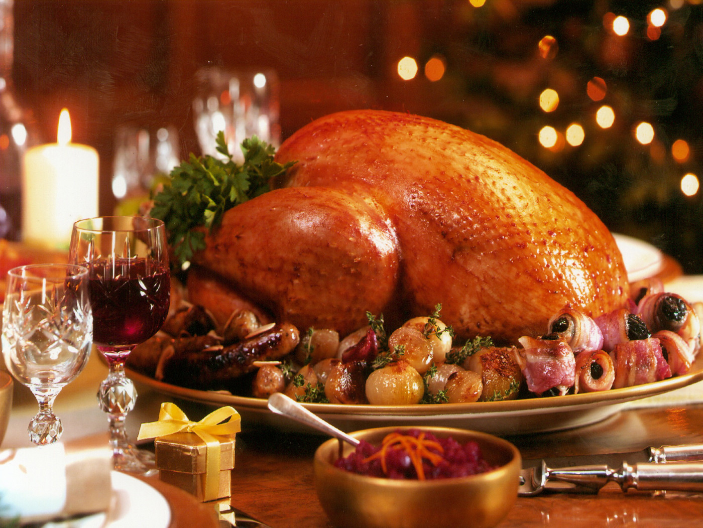 Traditional Christmas Dinner  Scottish festive traditions involving food and drink