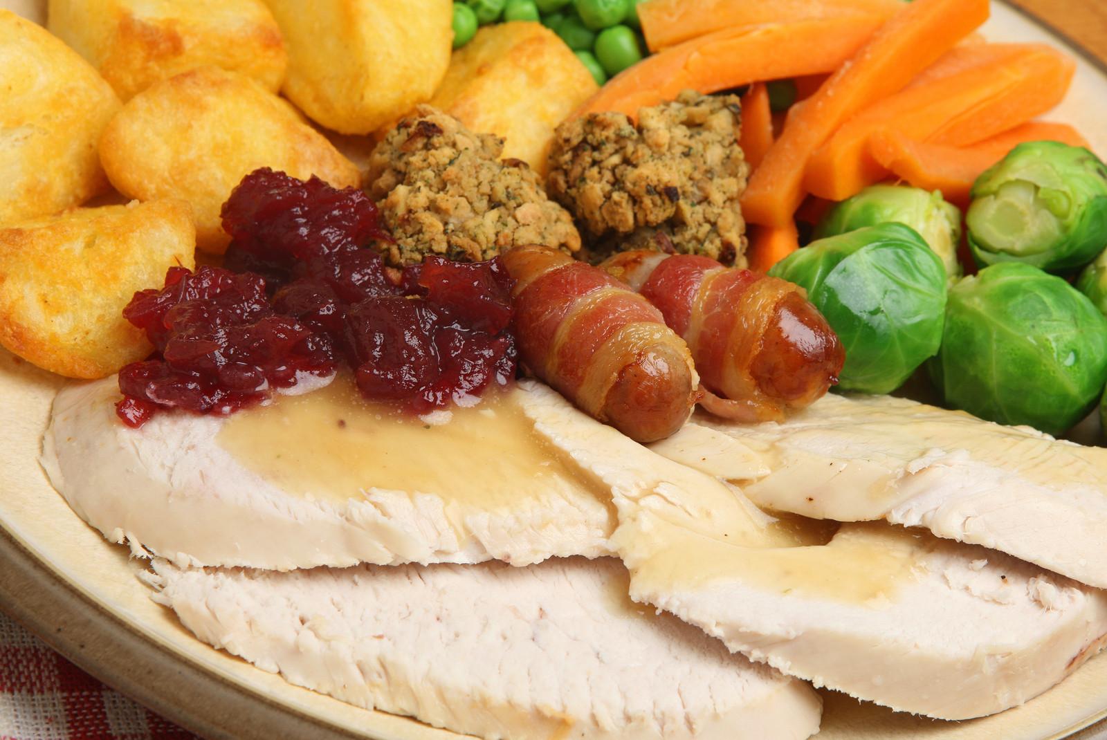 Traditional Christmas Dinner  Hazeldines Christmas Dinner