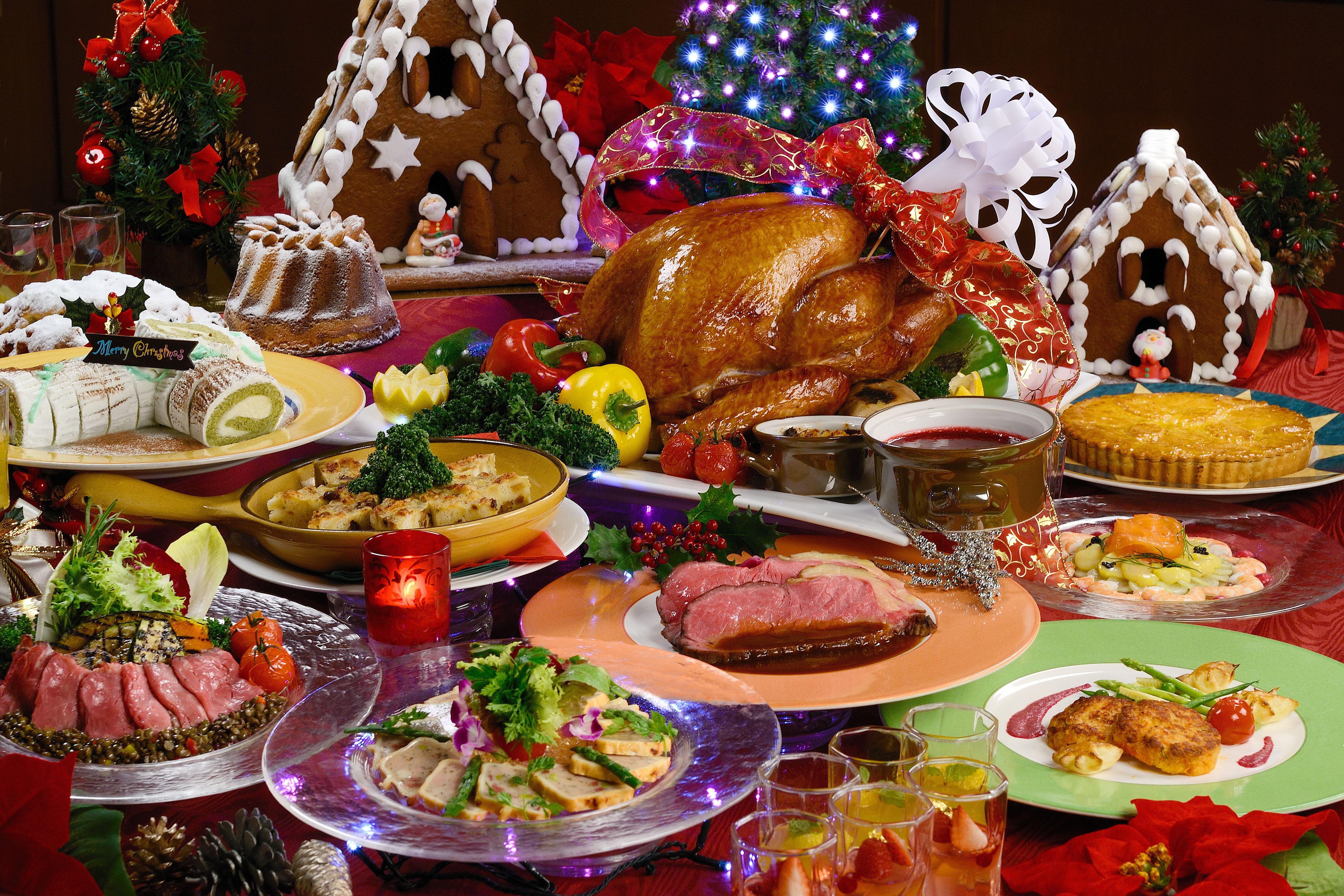 Traditional Christmas Dinner  Dishing up a delicious Kansai Christmas