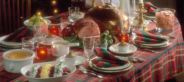 Traditional Christmas Dinner  A Finnish Christmas cookbook thisisFINLAND
